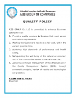 1-Quality Policy